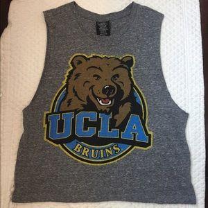 Grey UCLA muscle tee